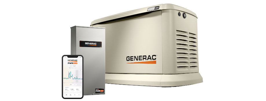 24kW Generac with 200-Amp PWRview HEMS ATS